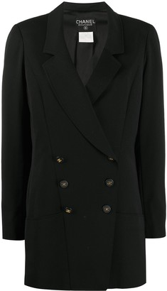 Chanel Pre Owned 1997 Double-Breasted Blazer