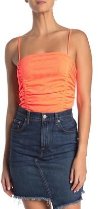 Abound Ruched Neon Bodysuit