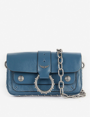 Zadig & Voltaire Kate Wallet studded leather cross-body bag