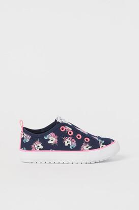 H&M Slip-on Sneakers - Blue