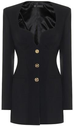 Versace Crepe blazer