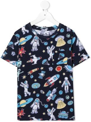 MC2 Saint Barth astronaut print T-shirt