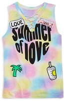 Flowers by Zoe Girls' Tie Dye Summer of Love Top - Big Kid