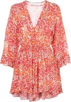 IRO Rhodey floral print mini dress