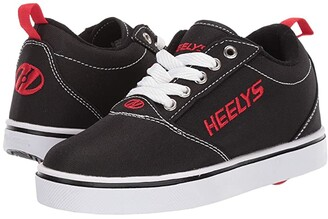 Heelys Pro 20 (Little Kid/Big Kid/Adult) (Black/White/Red) Kid's Shoes