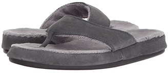 Acorn Suede Spa Thong (Ash) Women's Sandals