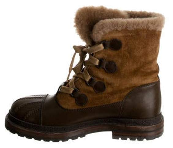 315063f3f99 Paris-Salzburg Shearling Boots Brown Paris-Salzburg Shearling Boots