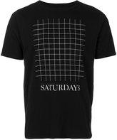 Saturdays NYC grid T-shirt