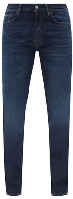 Acne Studios North Slim-fit Jeans - Mens - Dark Blue