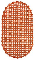 Susenstone® Non Slip Rubber Mat Suction Bath Shower Bathroom Antiskid Pad (Orange)