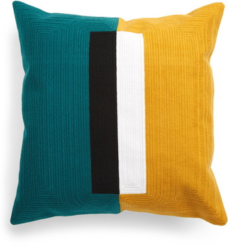 Dusen Dusen Block Pillow Cover