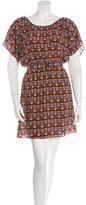 Alice + Olivia Printed Silk Dress w/ Tags