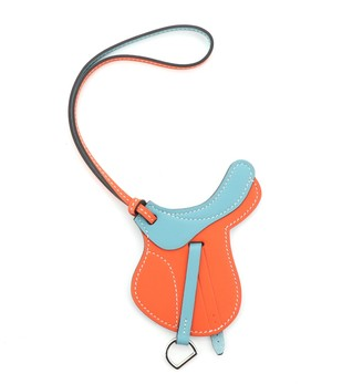 Hermes Paddock Selle Bag Charm Leather