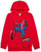 Spiderman Marvel's Graphic-Print Sound Hoodie, Big Boys