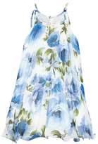 Iris & Ivy Crystal Pleat Floral Dress
