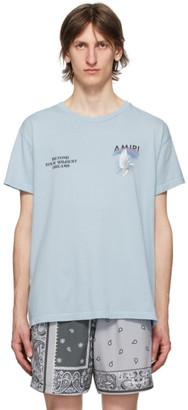 Amiri Blue Rainbow Dove T-Shirt