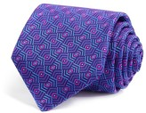 Robert Talbott Geometric Diamond Abstract Classic Tie