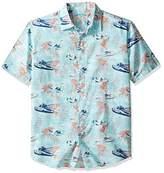 Margaritaville Men's Fly Away Button Front Shirt