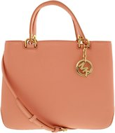 Michael Kors Women's Medium Anabelle Top Zip Leather Top-Handle Tote