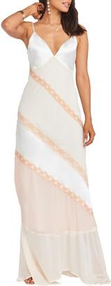 Show Me Your Mumu Allure Colorblock Slipdress