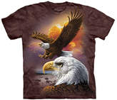 The Mountain Brown Eagle & Clouds Tee - Unisex
