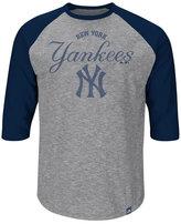 Majestic Men's New York Yankees Fast Win Raglan T-Shirt