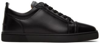 Christian Louboutin Black Louis Junior Sneakers