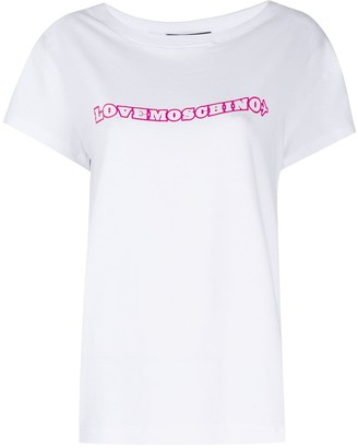 Love Moschino logo T-shirt