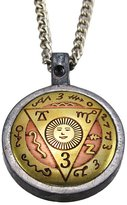 Things2Die4 Brass / Pewter Travel Talisman Pendant Safe Journey