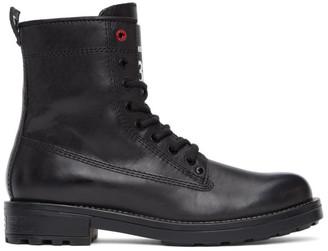 Diesel Black D-Throuper DBB Z Boots