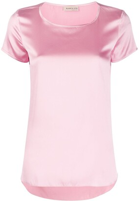 Blanca Vita Tania silk T-shirt