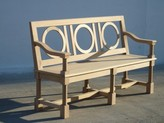 The Well Appointed House Santeny Outdoor Bench in Natural