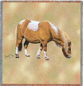 Pure Country Shetland Pony Lap Square - 54 x 54 Blanket/Throw
