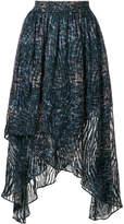 IRO draped skirt