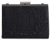 Badgley Mischka Alice Frame Clutch - Black