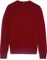 Joseph Button-detailed Cashmere Sweater - Burgundy