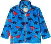 Hatley Silhouette Dino Fuzzy Fleece Jacket (Toddler/Little Kids/Big Kids)