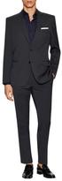 Versace Pinstripe Notch Lapel Suit