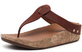 FitFlop Ibiza Cork Dark Tan