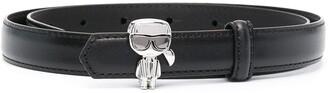 Karl Lagerfeld Paris skinny belt with detail