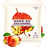 Hunputa Natural Plant Highly Absorbed Essence Collagen Moisturizing Whitening Anti Aging Facial Mask Skin Care (B)