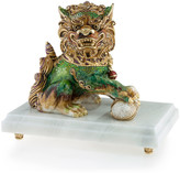 Jay Strongwater Foo Dog Male