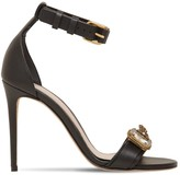 Alexander McQueen 105MM EMBELLISHED LEATHER SANDALS