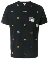 Kenzo Men's Black Cotton T-shirt.