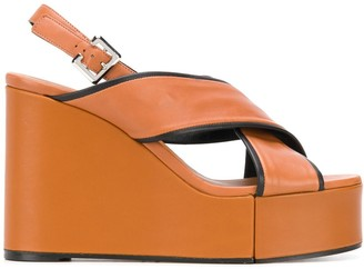 Clergerie Wedge Heel Sandals