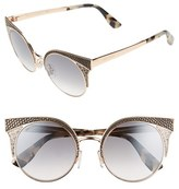 Jimmy Choo Women's 'Ora' 51Mm Cat Eye Sunglasses - Gold Copper