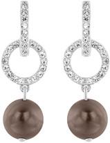 Swarovski Tahitian Pierced Earrings