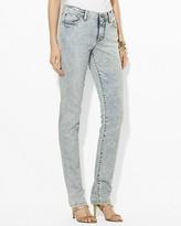 Lauren Ralph Lauren Slimming Modern Straight Ankle Jeans