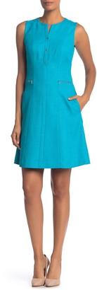 Elie Tahari Peyton Fit & Flare Dress