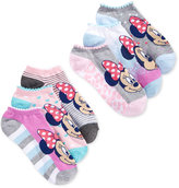 Disney Women's Minnie Mouse Leopard No Show 6-Pk. Socks